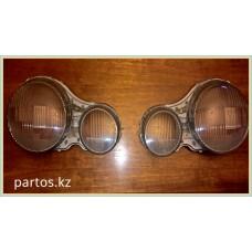 Glass headlights (LH)+(RH), W210