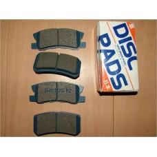 Rear disc brake pads, Pajero 2000-2006