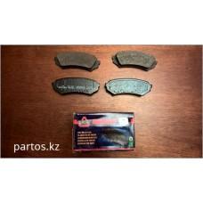 Disc brake pads (RR), Land Cruiser 100